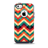 The Abstract Colorful Chevron Skin for the iPhone 5c OtterBox Commuter Case