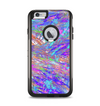 The Abstract Colorful Oil Paint Splatter Strokes Apple iPhone 6 Plus Otterbox Commuter Case Skin Set