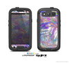 The Abstract Colorful Oil Paint Splatter Strokes Skin For The Samsung Galaxy S3 LifeProof Case