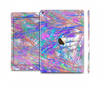 The Abstract Colorful Oil Paint Splatter Strokes Skin Set for the Apple iPad Air 2