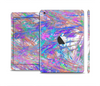 The Abstract Colorful Oil Paint Splatter Strokes Full Body Skin Set for the Apple iPad Mini 2