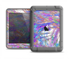 The Abstract Colorful Oil Paint Splatter Strokes Apple iPad Mini LifeProof Nuud Case Skin Set