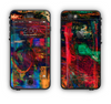 The Abstract Colorful Painted Surface Apple iPhone 6 LifeProof Nuud Case Skin Set