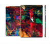 The Abstract Colorful Painted Surface Full Body Skin Set for the Apple iPad Mini 2