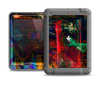 The Abstract Colorful Painted Surface Apple iPad Mini LifeProof Nuud Case Skin Set