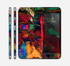 The Abstract Colorful Painted Surface Skin for the Apple iPhone 6 Plus