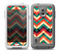The Abstract Fall Colored Chevron Pattern Skin for the Samsung Galaxy S5 frē LifeProof Case