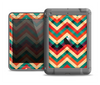 The Abstract Fall Colored Chevron Pattern Apple iPad Mini LifeProof Fre Case Skin Set