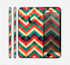 The Abstract Fall Colored Chevron Pattern Skin for the Apple iPhone 6 Plus