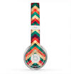 The Abstract Fall Colored Chevron Pattern Skin for the Beats by Dre Solo 2 Headphones