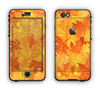 The Abstract Fall Leaves Apple iPhone 6 LifeProof Nuud Case Skin Set