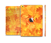 The Abstract Fall Leaves Full Body Skin Set for the Apple iPad Mini 2