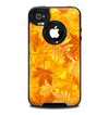 The Abstract Fall Leaves Skin for the iPhone 4-4s OtterBox Commuter Case