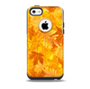 The Abstract Fall Leaves Skin for the iPhone 5c OtterBox Commuter Case