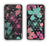 The Abstract Flower Arrangement Apple iPhone 6 LifeProof Nuud Case Skin Set