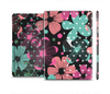 The Abstract Flower Arrangement Full Body Skin Set for the Apple iPad Mini 2