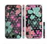 The Abstract Flower Arrangement Sectioned Skin Series for the Apple iPhone 6