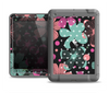 The Abstract Flower Arrangement Apple iPad Mini LifeProof Fre Case Skin Set
