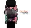 The Abstract Flower Arrangement Skin for the Pebble SmartWatch