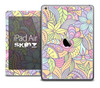 The Abstract Flower Pattern Skin for the iPad Air