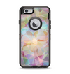 The Abstract Geometric Subtle Colored Connect Blocks Apple iPhone 6 Otterbox Defender Case Skin Set