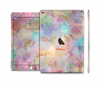 The Abstract Geometric Subtle Colored Connect Blocks Skin Set for the Apple iPad Air 2
