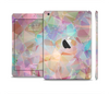The Abstract Geometric Subtle Colored Connect Blocks Full Body Skin Set for the Apple iPad Mini 2