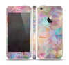 The Abstract Geometric Subtle Colored Connect Blocks Skin Set for the Apple iPhone 5s