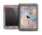 The Abstract Geometric Subtle Colored Connect Blocks Apple iPad Air LifeProof Fre Case Skin Set