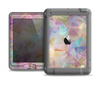 The Abstract Geometric Subtle Colored Connect Blocks Apple iPad Mini LifeProof Nuud Case Skin Set