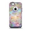 The Abstract Geometric Subtle Colored Connect Blocks Skin for the iPhone 5c OtterBox Commuter Case