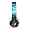 The Abstract Glowing Blue Swirls Skin for the Beats by Dre Studio (2013+ Version) Headphones