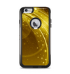 The Abstract Gold Fantasy Swoop Apple iPhone 6 Plus Otterbox Commuter Case Skin Set