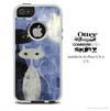 The Abstract Meow Cat Skin For The iPhone 4-4s or 5-5s Otterbox Commuter Case
