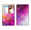 The Abstract Neon Paint Explosion Skin For The Apple iPod Classic