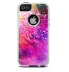 The Abstract Neon Paint Explosion Skin For The iPhone 5-5s Otterbox Commuter Case