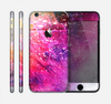 The Abstract Neon Paint Explosion Skin for the Apple iPhone 6