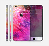 The Abstract Neon Paint Explosion Skin for the Apple iPhone 6 Plus