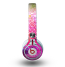 The Abstract Neon Paint Explosion Skin for the Beats by Dre Mixr Headphones