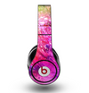 The Abstract Neon Paint Explosion Skin for the Original Beats by Dre Studio Headphones