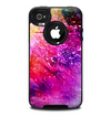 The Abstract Neon Paint Explosion Skin for the iPhone 4-4s OtterBox Commuter Case