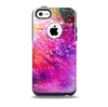 The Abstract Neon Paint Explosion Skin for the iPhone 5c OtterBox Commuter Case