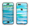 The Abstract Oil Painting Lines Apple iPhone 6 LifeProof Nuud Case Skin Set