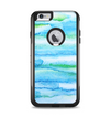The Abstract Oil Painting Lines Apple iPhone 6 Plus Otterbox Commuter Case Skin Set