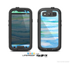The Abstract Oil Painting Lines Skin For The Samsung Galaxy S3 LifeProof Case