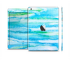 The Abstract Oil Painting Lines Full Body Skin Set for the Apple iPad Mini 2