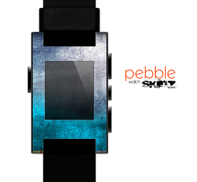 The Abstract Oil Painting Skin for the Pebble SmartWatch