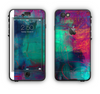 The Abstract Oil Painting V3 Apple iPhone 6 LifeProof Nuud Case Skin Set