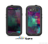 The Abstract Oil Painting V3 Skin For The Samsung Galaxy S3 LifeProof Case