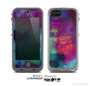 The Abstract Oil Painting V3 Skin for the Apple iPhone 5c LifeProof Case